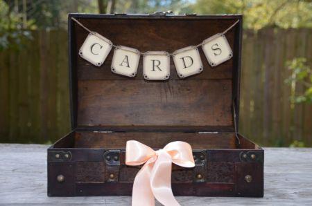 80th Birthday Card Suitcase Display