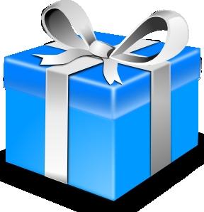 50s Blue Gift