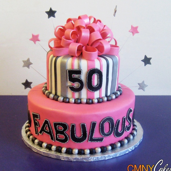 Fabulous 50th Birthday Cake Idea