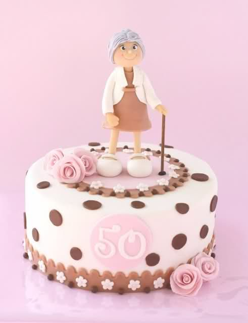 Grandma 50th Birthday Cake Idea