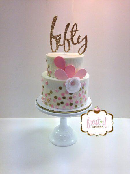 50th Birthday Cake Idea For Woman