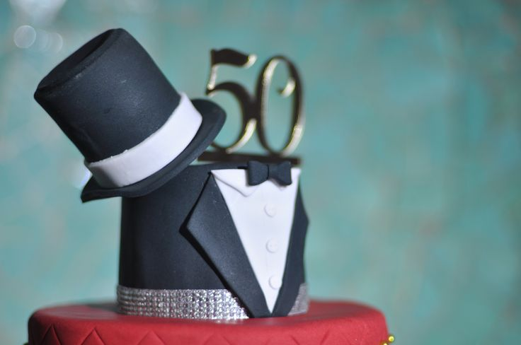 Man's 50th Birthday Cake Idea