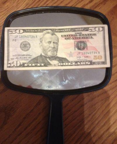 50th Birthday Gag Gifts Money Idea
