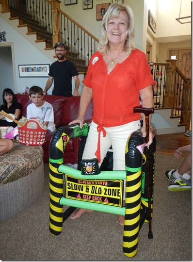 50th Birthday Gag Gifts Inflatable Walker