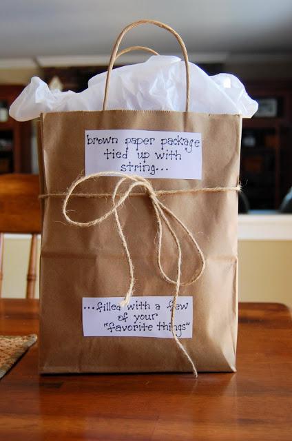 50th Birthday Gift Bag Idea