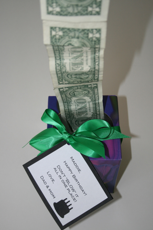 Clever 50th Birthday Gift Idea