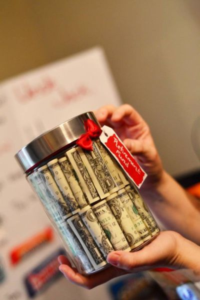 Money 50th Birthday Gift Idea