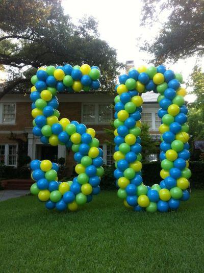 50th Birthday Party Decorations Balloon Art