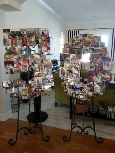 50th Birthday Party Decorations Collage