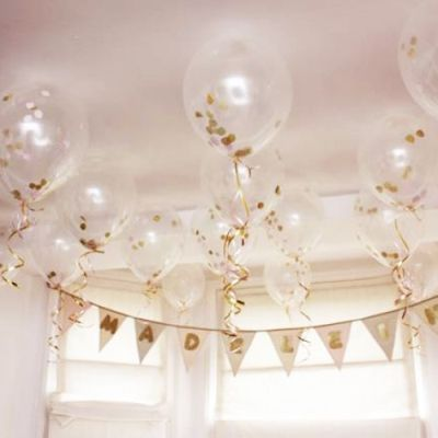 50th Birthday Party Decorations Confetti Balloons