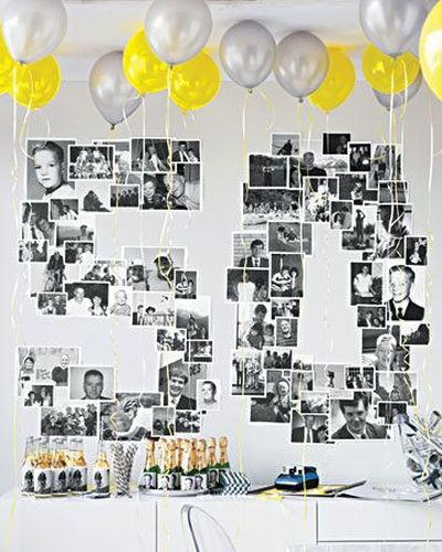 50th Birthday Party Decorations Display