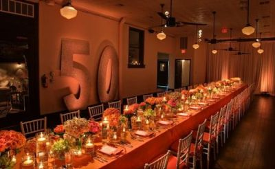 50th Birthday Party Decorations For Formal Dining