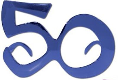 50th Birthday Glasses Party Favors