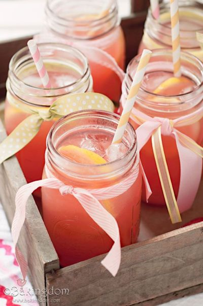 Easy Beverage Idea For 50th Birthday Party