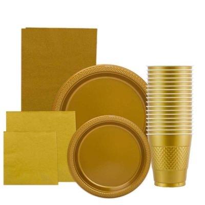 Gold 50th Birthday Party Supplies