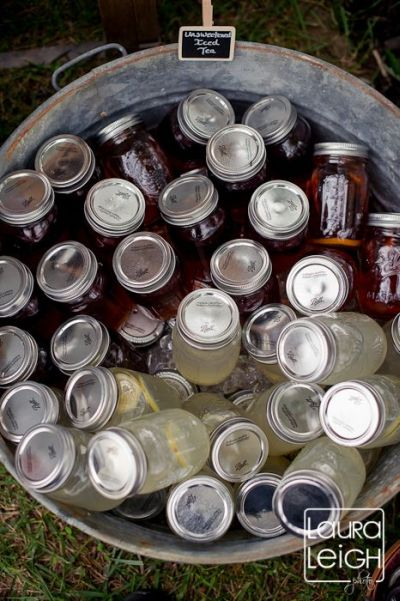 Beverage Idea Using Mason Jars