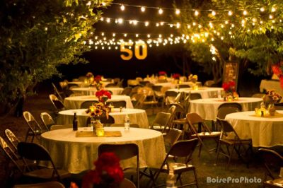 Golden 50th Birthday Party Themes