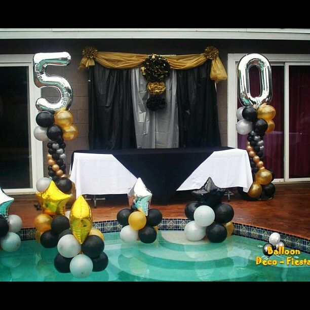 50th birthday party themes for 50th party decoration ideas