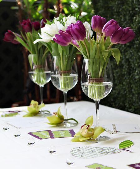 80th Birthday Decorations Tulips