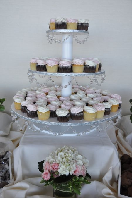 80th Birthday Cupcake Tower