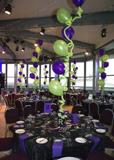 80th Birthday Decorations Balloon Art