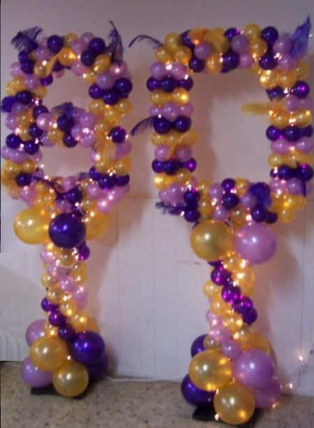 80th Birthday Decorations Balloon Art