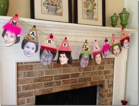 80th Birthday Decorations Photo Banner