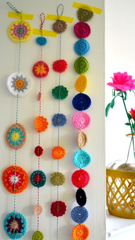 80th Birthday Decorations Crochet garlands