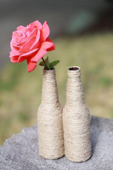 Bottle Vases for 80th Birthday Decorations