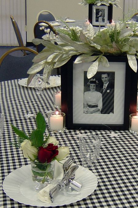 80th Birthday Decorations Memory Table