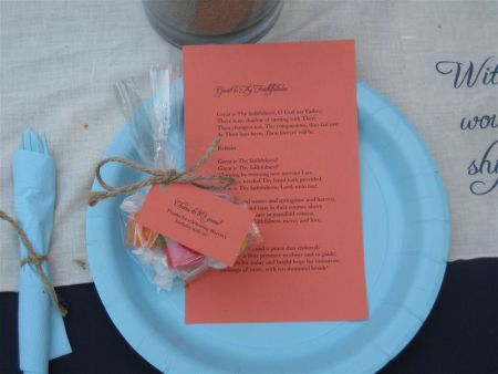 Favorite Things 80th Birthday Party Favors