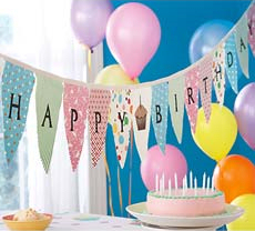 Birthday Party Decorations Ideas