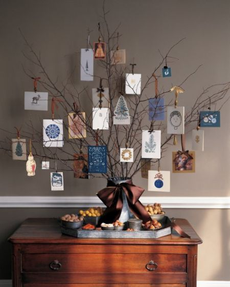 80th Birthday Card Tree