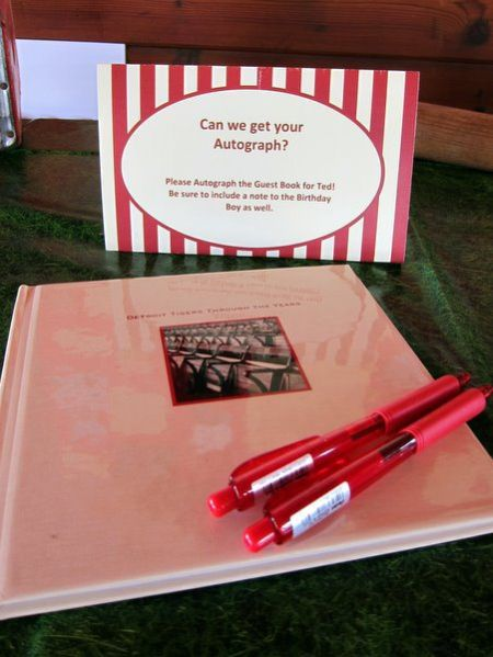 80th Birthday Party Suggestions Guest Book