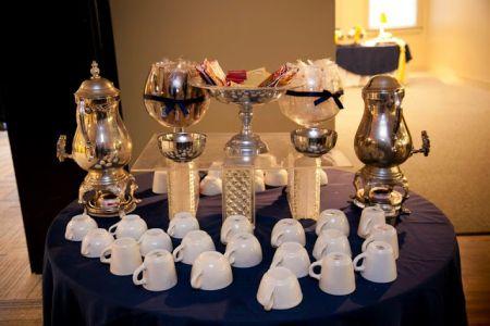Biscotti Wedding Favor Display