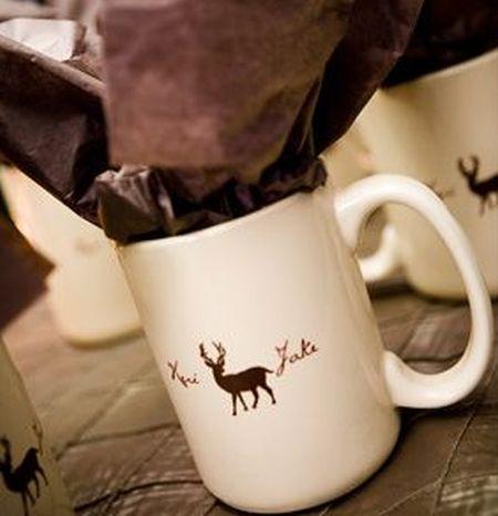 Biscotti Filled Coffee Mug
