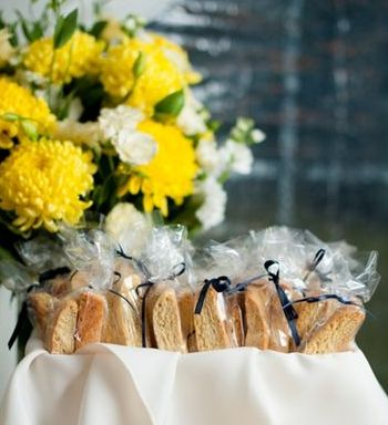 Biscotti Wedding Cookie Favors