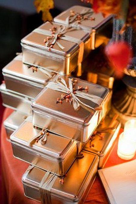 Biscotti Wedding Favor Gift Idea