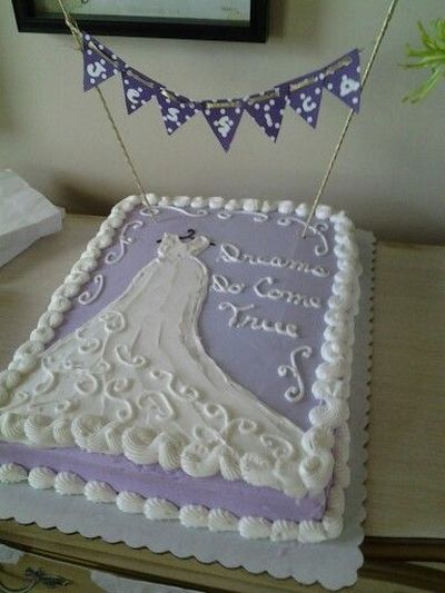 Cake Designs For A Bridal Shower : Bridal Shower Cake Ideas