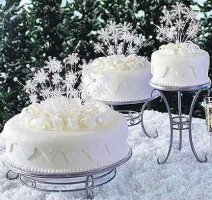 Bridal Shower Cake Winter