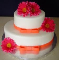 Bridal Shower Flower Cake