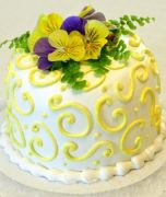 Bridal Shower Flower Yellow