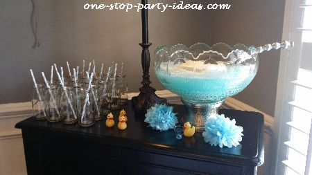 features fruity tails color coordinated punch up the presentation by coordinating decorative elements to match the wedding colors this