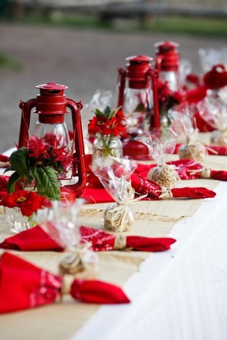Colorful Candy Apple Wedding Favor Idea