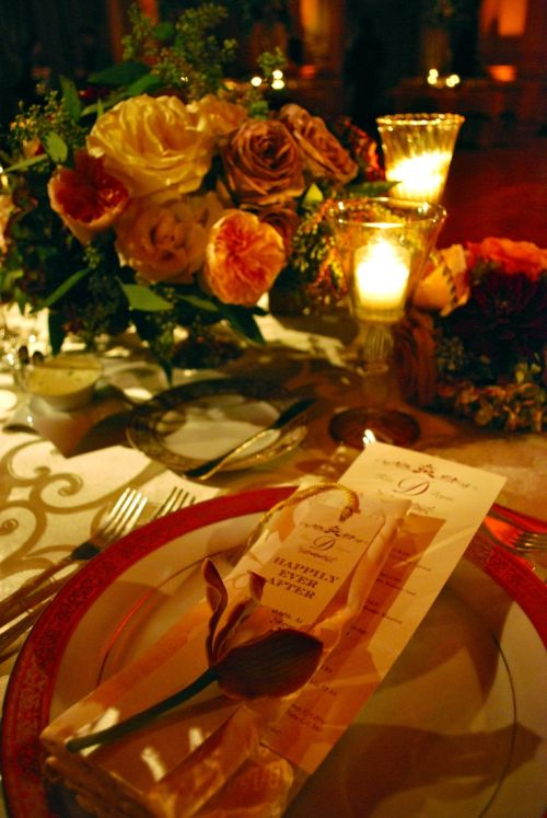 Perfect Wedding Table Place Setting