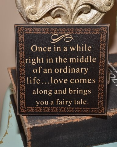 Fairy Tale Wedding Sign
