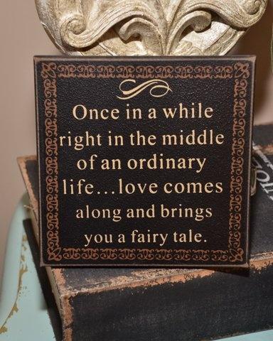 Fairy Tale Wedding Sign