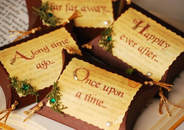 Castle Wedding Favors