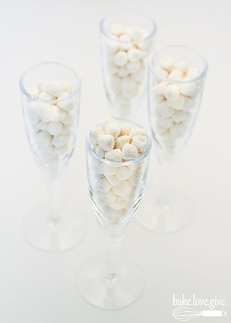 Champagne Bubble Candy Flutes
