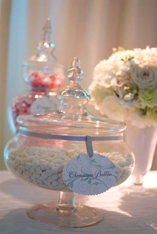 Champagne Candy Wedding Favor Idea